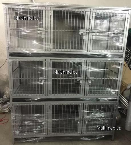 Muebles para veterinarios mobiliario para clinicas for Jaulas de perros